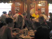 diners at Friday Night Fish Fry